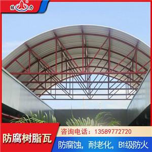 防腐复合瓦 pvc塑料树脂瓦 山东滨州厂房耐腐板性能稳定