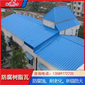 塑钢树脂瓦 山东晋中塑料防腐板 钢结构树脂瓦质轻价廉