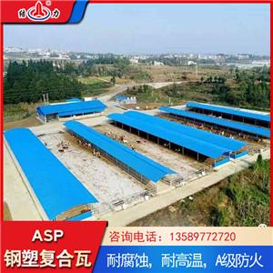 钢塑复合瓦 钢塑耐腐瓦 钢结构厂房彩钢瓦性能优异