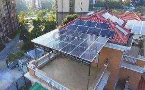 重庆别墅装修 别墅阳光房阳光棚厂家 光伏发电安装设计