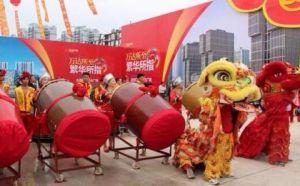 北京通州区舞龙舞狮表演,表演新颖,赏心悦目
