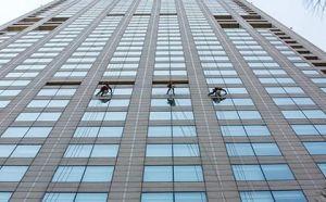 福州外墙清洗,高空清洁工程必备的设施设备