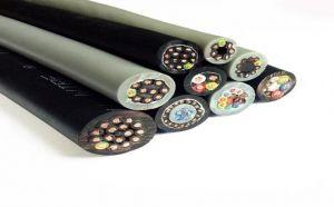 拖链电缆 TRVVP-2 TRVVSP 塑料绝缘电力电缆 电工电气