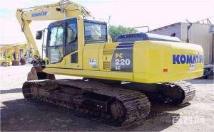 低价出售小松220-8二手挖掘机