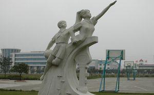 成都锻铜雕塑设计,四川景观雕塑制作
