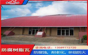 840树脂厂房瓦 树脂塑钢瓦 山东荣成厂房屋面墙体翻新