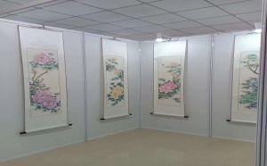 书画展板艺术墙板搭建安装租赁
