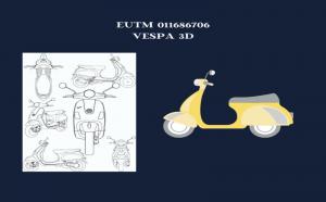 您知道 VESPA 的独特形式是受保护的 3D 商标吗?